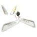 Power1 knipperlichtset voor Vespa Primavera / Sprint Helder LED 2.0 (audi look)
